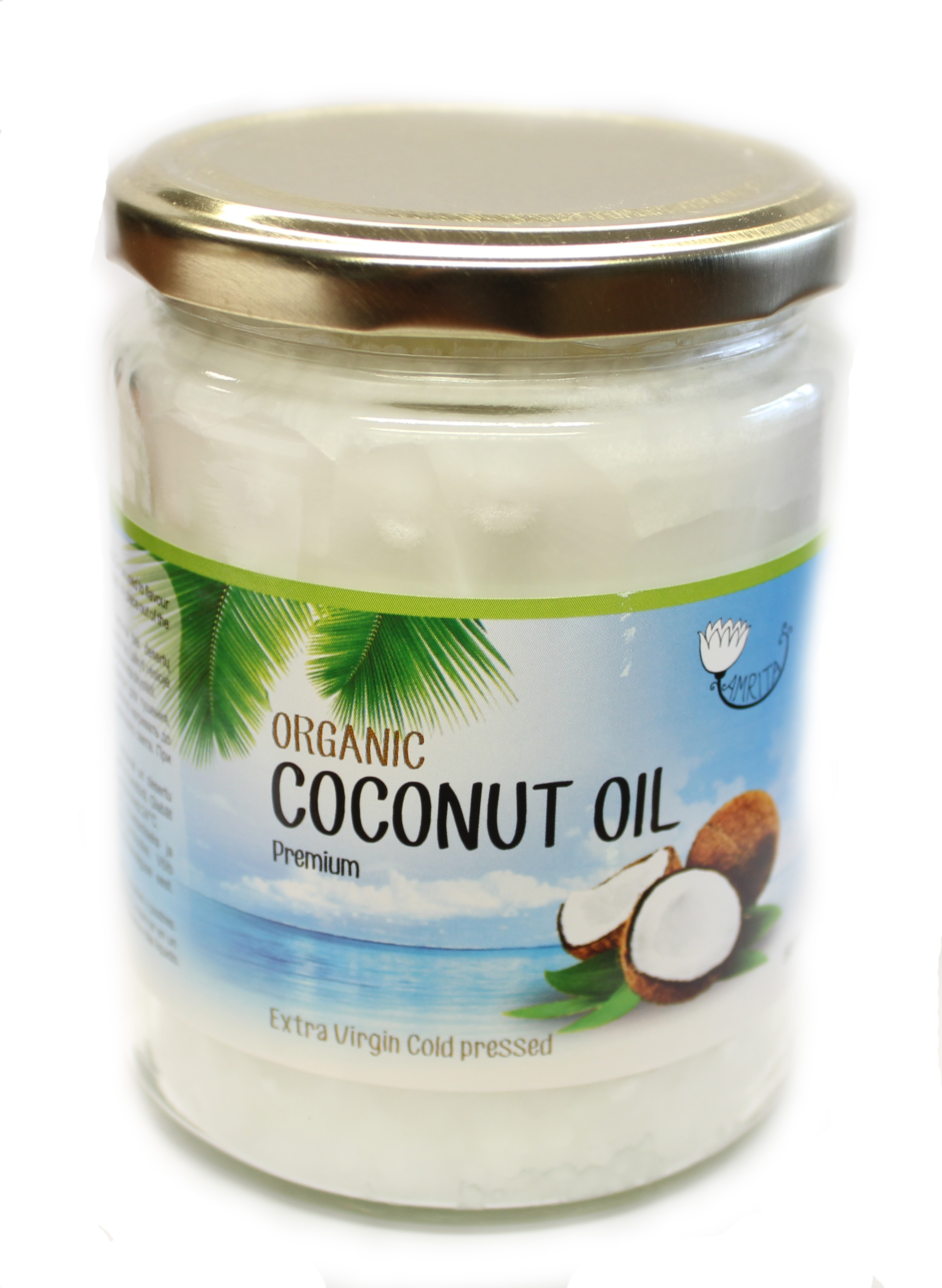 Organic Coconut Oil Extra Virgin (500ml)