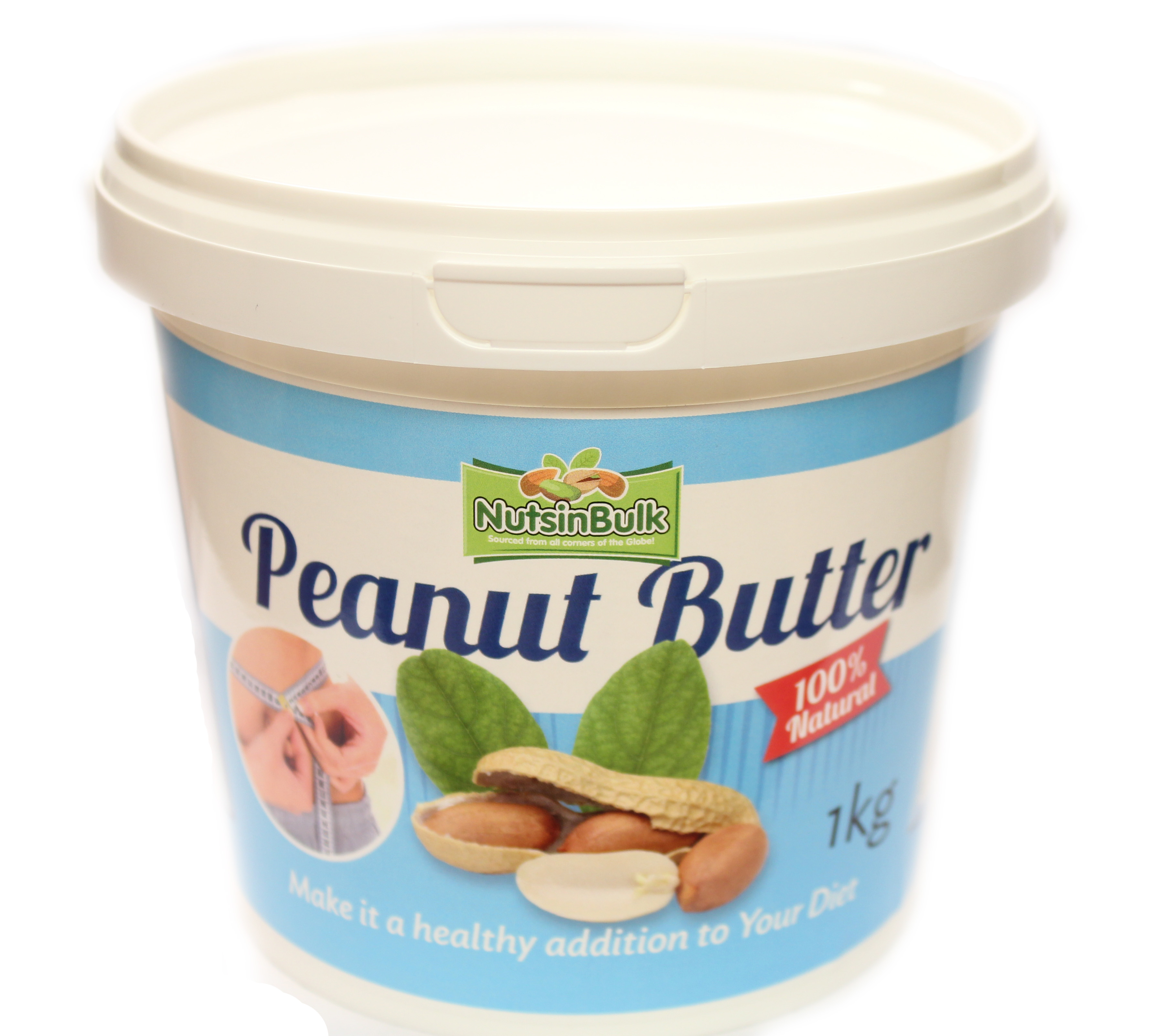 Nuts in Bulk Peanut Butter (100% Nuts)