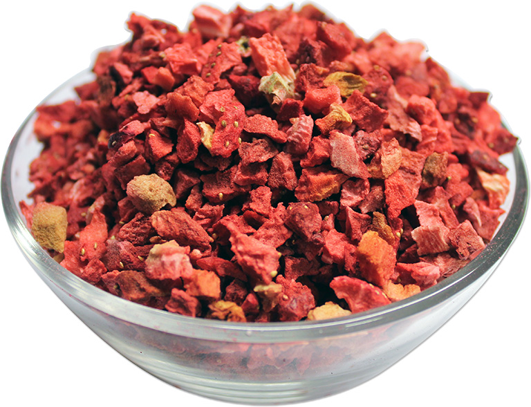 Freeze Dried Strawberries Pieces