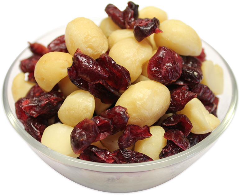 Macadamia & Cranberries mix