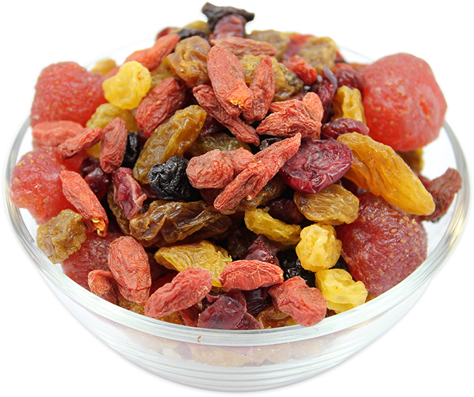 Dried Mixed Berries