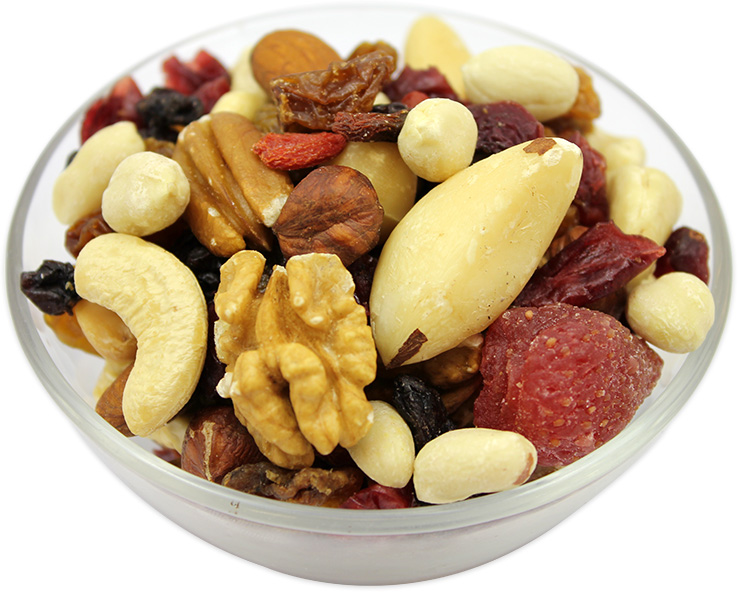 Dried Mixed Berries & Nuts with Peanuts