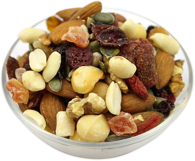 Mixed Dried Berries, Nuts & Seeds