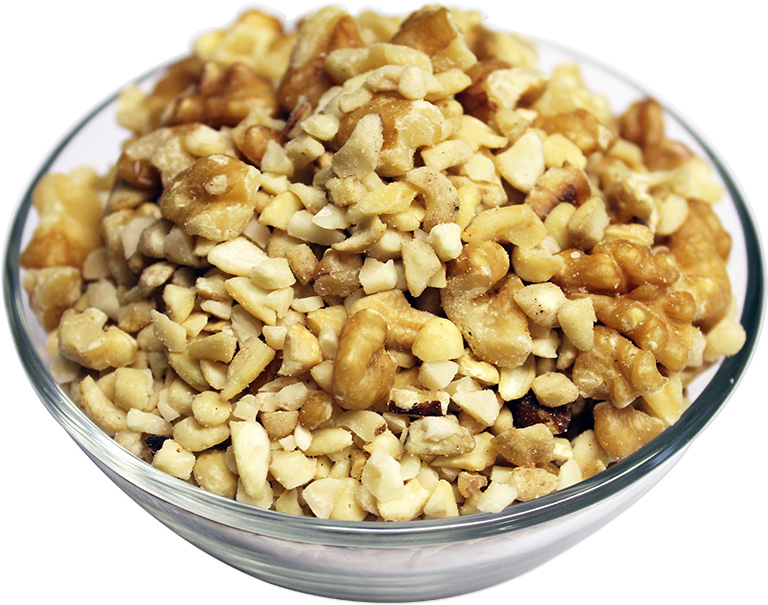 Raw Mixed Nuts Pieces
