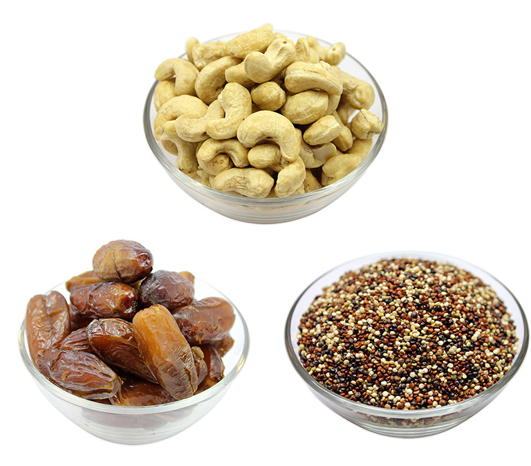Supplier of nuts, seeds, dried fruits, herbs and spices online in