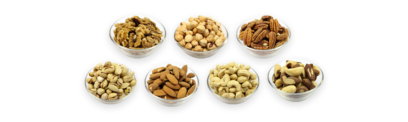 Supplier of nuts, seeds, dried fruits, herbs and spices
